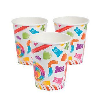 Lollipop Lane Cups (set of 8) Oriental Trading $2