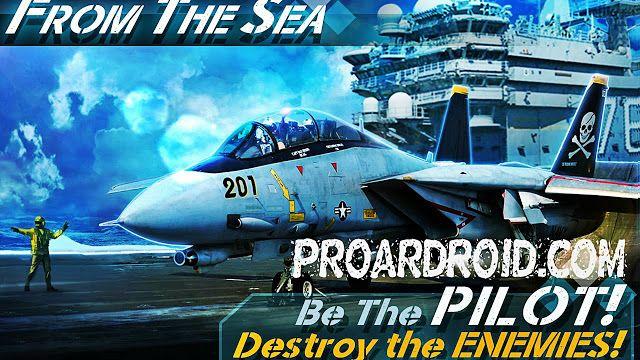 تحميل لعبة الطائرات الحربية الرائعة From The Sea النسخة المعدلة