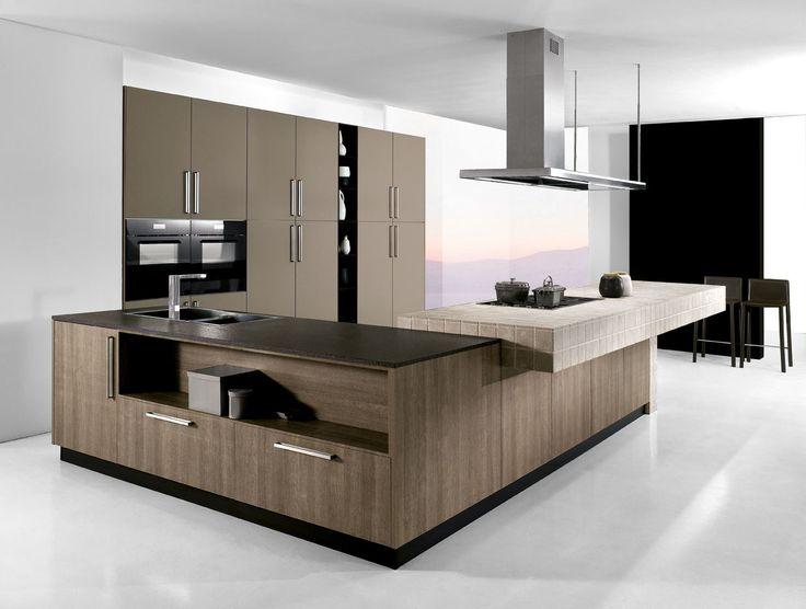 Petra di arredo3 arredo3 cucine arredamento design - Cucine con penisola centrale ...