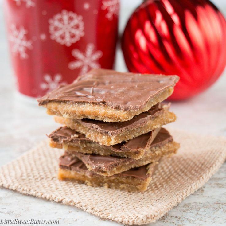 To Karamelové cukroví je chocolatey, křupavé a velmi návyková!  Odtud název a je vyroben pouze 4 ingrediencí.