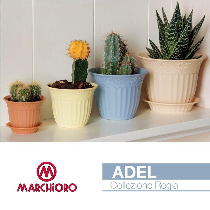 #ADEL Collezione Regia  Vaso senza fori  #marchioro #lineagarden