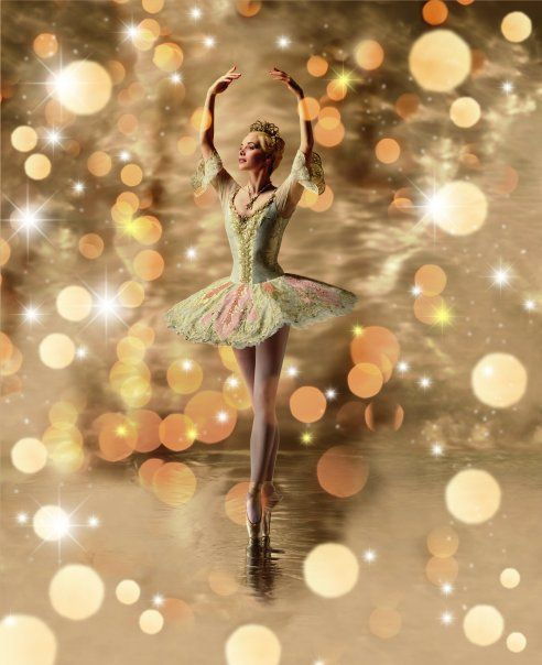 Darcey Bussell, all glitter and beauty.