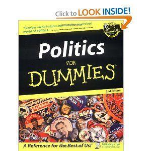 Amazon.com: Politics For Dummies (9780764508875): Ann DeLaney: Books