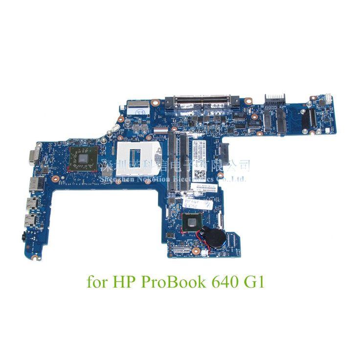 744010-601 744010-001 For HP ProBook 640 G1 Laptop motherboard 14 Inch Radeon HD 8750M Intel GMA HD 4400 DDR3L  #Affiliate