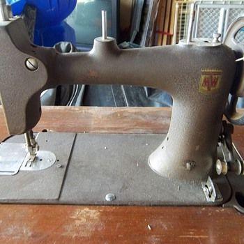 Antique Montgomery Ward Sewing Machine