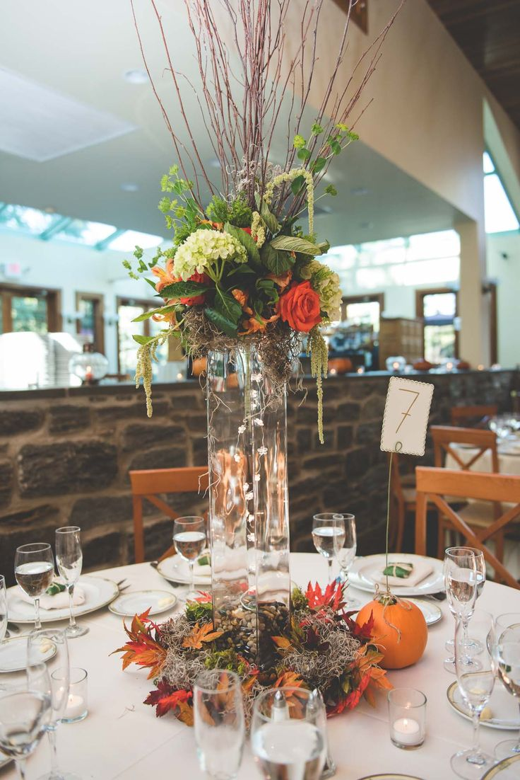 Autumn Forest-Inspired Table Centerpiece