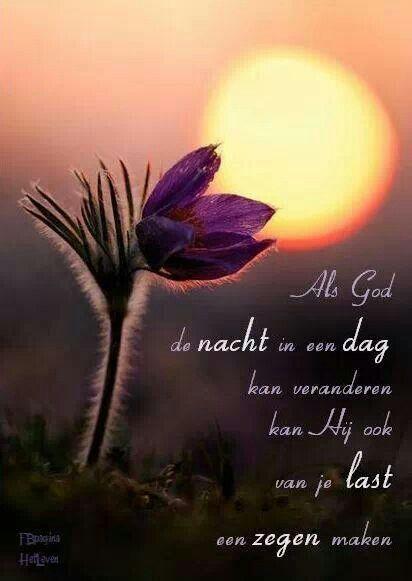 Als God een nacht in een dag kan veranderen,...  (is gerepint)