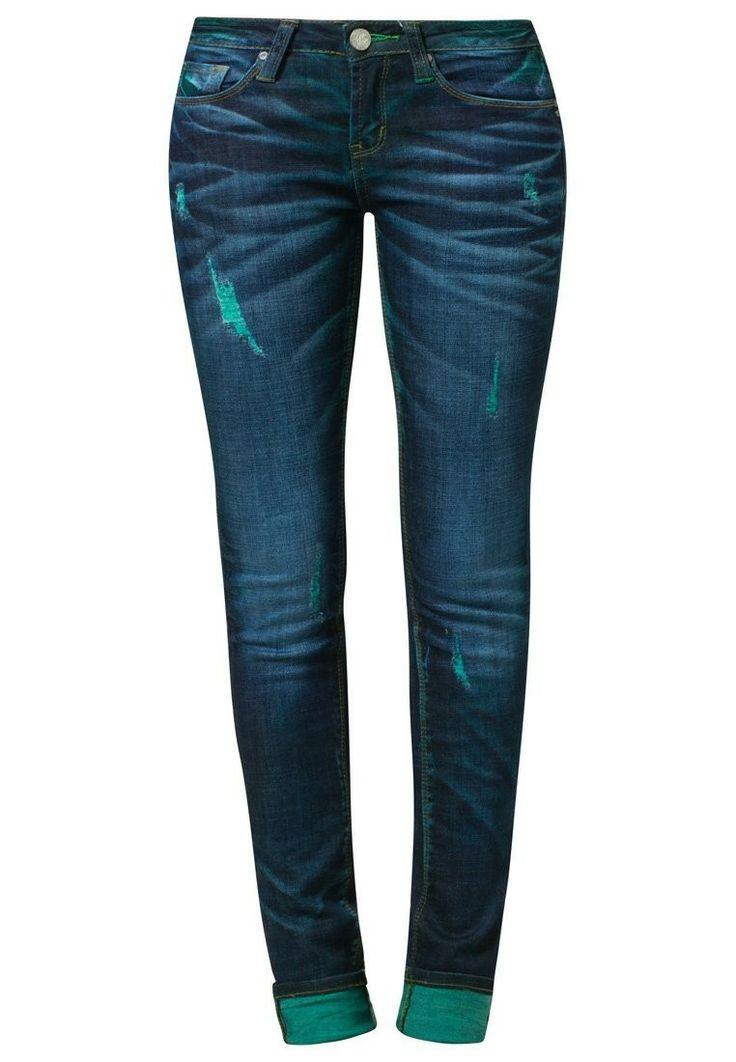 One Green Elephant KOSAI Slim fit jeans Groen - One Green Elephant KOSAI Slim fit jeans Groen