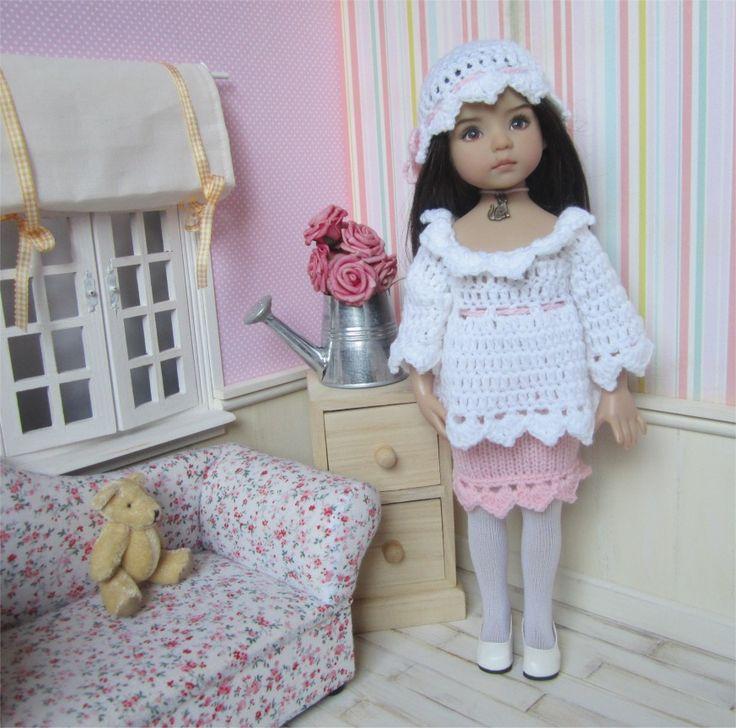 55- FICHE PATRON Tenue Poudre de Rosée pour poupée Little Darling, Paola Reina ou Les Chéries de Corolle : Jeux, jouets par atelier-crochet