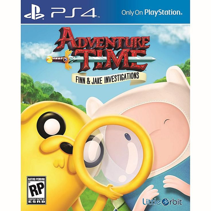 Sony Adventure Time Finn Jake Investigations Ps4 Adventure