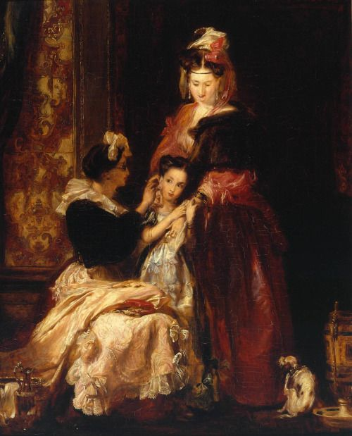 The First Ear-Ring, by David Wilkie, 1834-35