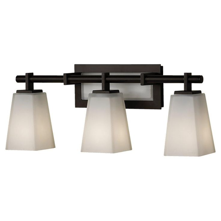 This Contemporary Oiled Bronze Vanity Light Is A Great Way To Brighten You Bathroom Brought