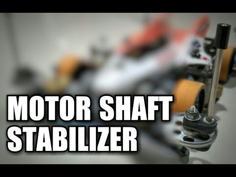 Motor Shaft Stabilizer【ミニ四駆】Tamiya Mini 4WD #6