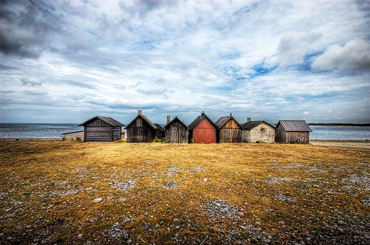 According to some historians the original home of the Goths, Gotland lies 90 km east of the mainland and is Sweden's largest island, covering in area of 3,140 sq km.