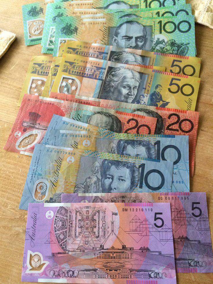 Australian cash!