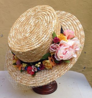17 best images about sombreros decorados on pinterest - Adornos para sombreros ...