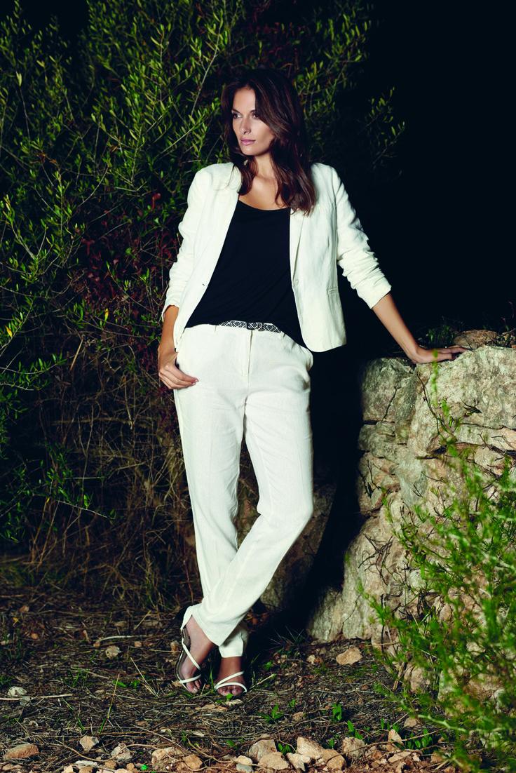 soyaconcept - suit - jacket - blazer - top - blouse - pants - belt