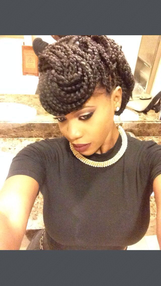 10 ways to style hair 10 gorgeous ways to style box braids style box 5134
