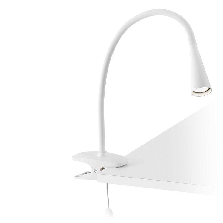 Faro 52059 - LENA Lampe avec pince blanche: Amazon.fr: Luminaires et Eclairage