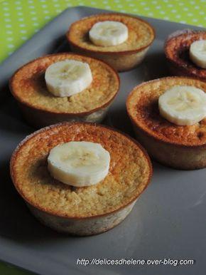 Une nouvelle idée pour le petit déjeuner et qui coûte très peu de points, seulement 6SP pour les 5 petits gâteaux, autant vous dire qu'avec ce petit déjeuner de compèt, vous êtes bien calé et c'est le principal! Une recette trouvée sur le site de Weight...