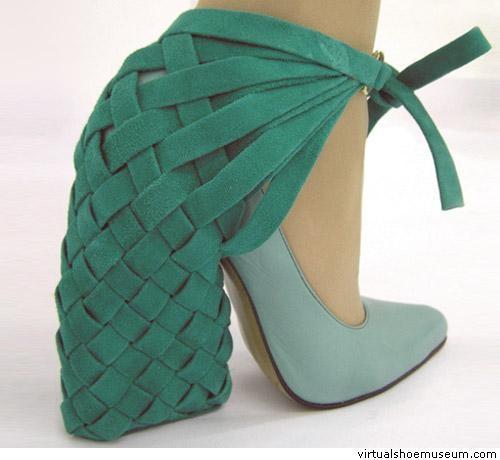 Bernadette Deddens...this is, umm...plain weird - Find 150+ Top Online Shoe Stores via http://AmericasMall.com/categories/shoes.html