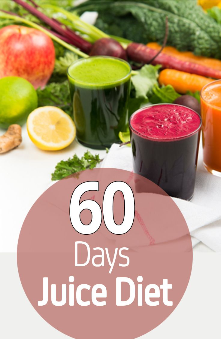 60 Day Juice Diet For Weight Loss
