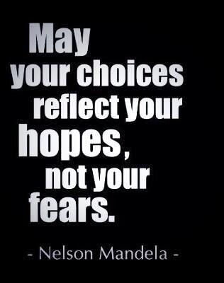 My my choices....