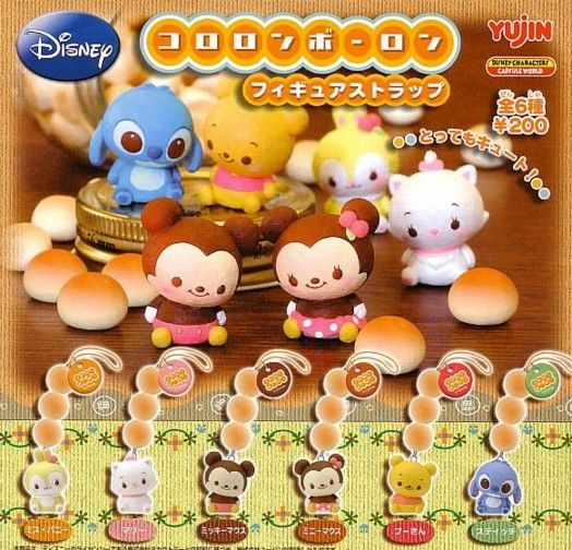 Japanese Capsule Toys : Best disney cuties tsum images