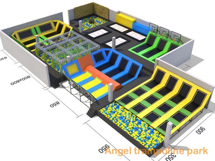 18 best trampoline park images on pinterest springboard. Black Bedroom Furniture Sets. Home Design Ideas