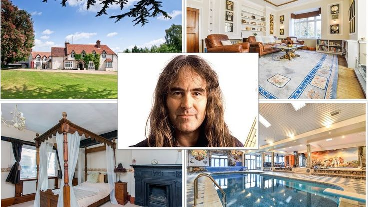 Iron Maiden Steve Harris' Awesome Essex House