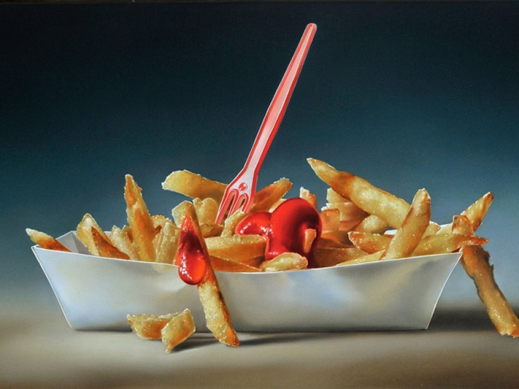 Hyper realistic food by tjalf sparnaay food pinterest - Hyper cuisine ...