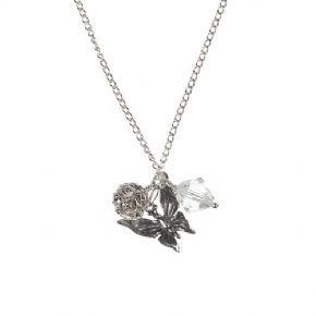 Flutterby Crystal Charm Pendant