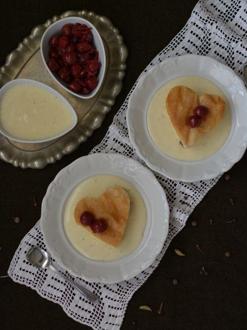 Colors in the Kitchen: Vargabéles vaníliasodóval és fűszeres sült meggyel