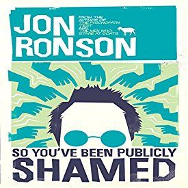 "Another must-listen from my #AudibleApp: ""So You've Been Publicly Shamed"" by Jon Ronson, narrated by Jon Ronson."