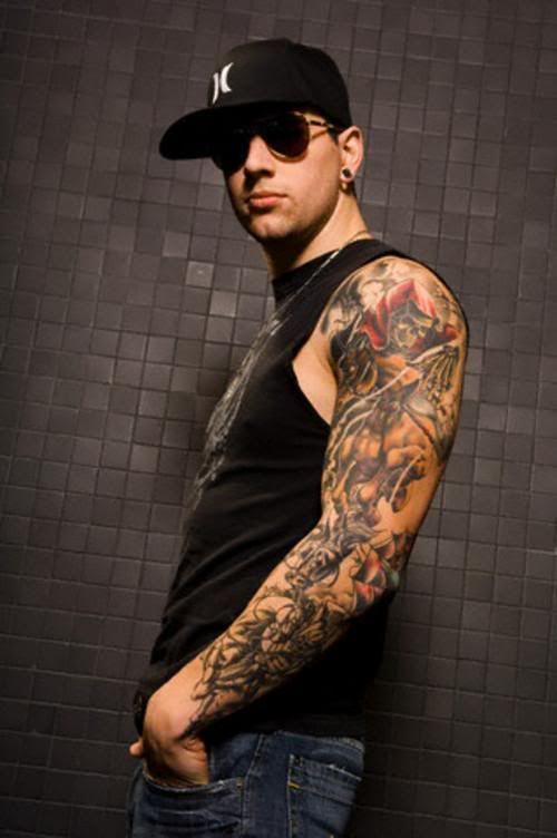 m shadows tattoos - photo #9