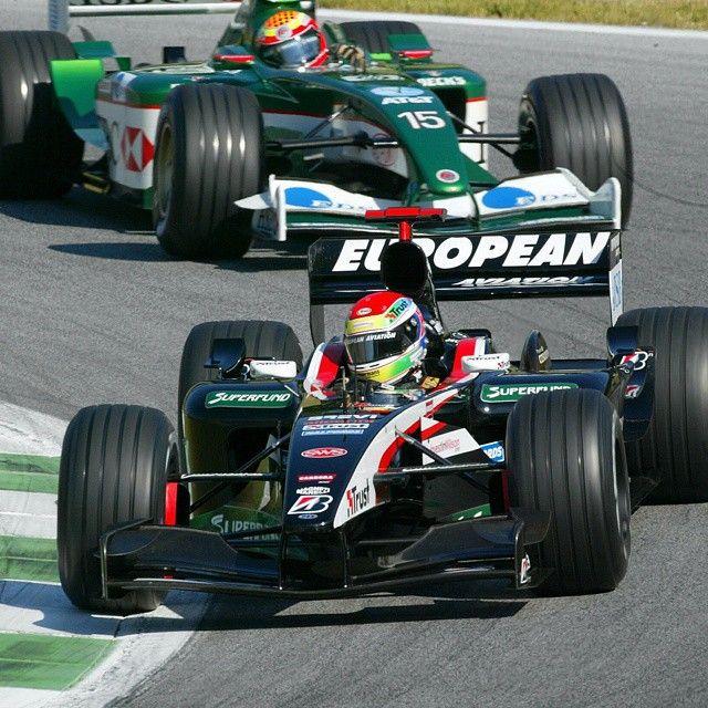 Justin Wilson driving for Minardi #f1 #formula1 #ripjustinwilson #justinwilson