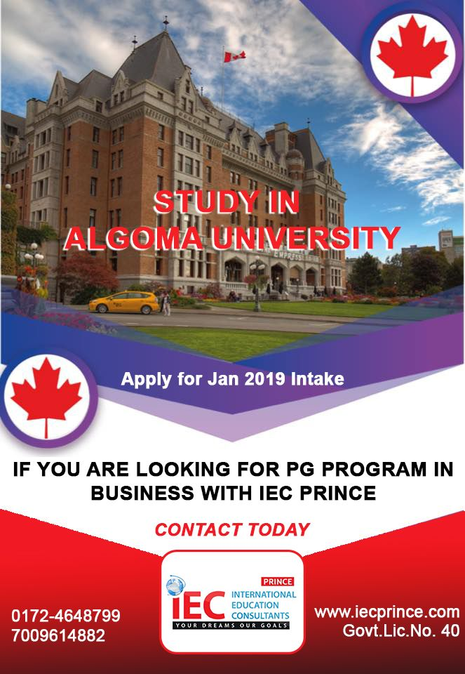 Canada Study Visa Certificate Program Pg Business