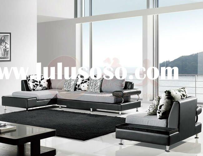 Modern European Style Fabric Sectional Sofa