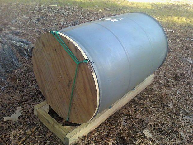 Compost Barrel tutorial