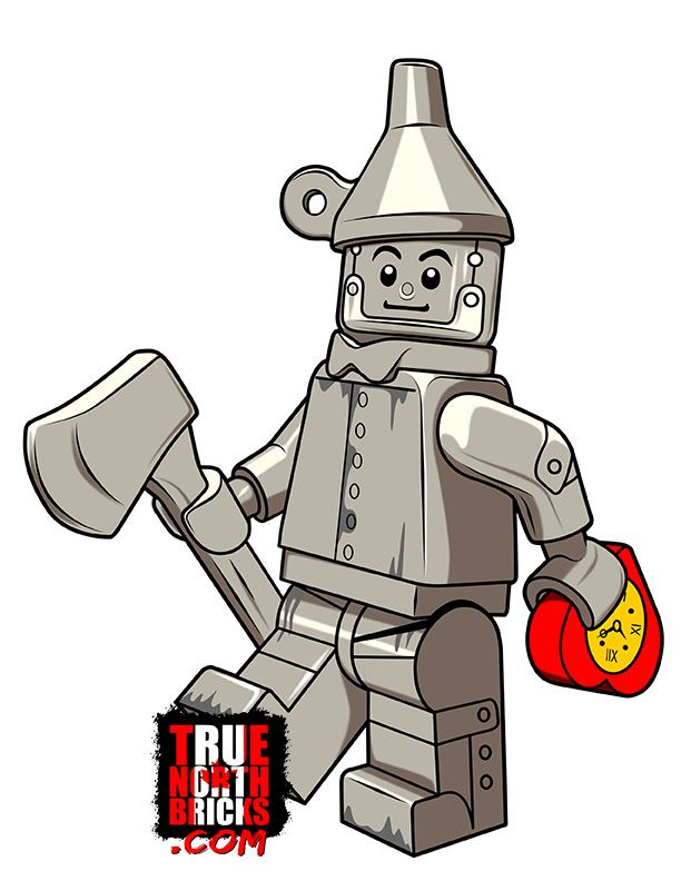 Coloring Page Tin Man Tin Man Lego Coloring Pages