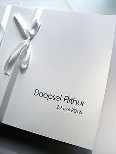 misboekjes en uitnodigingen voor uw doopfeest