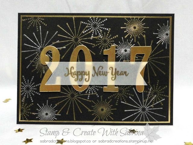 Stamp & Create With Sabrina: Dream Theme Internationsl Blog Hop - HAPPY NEW YEAR!