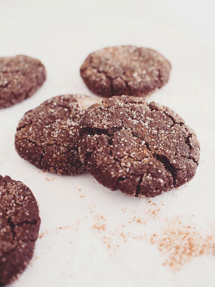 Gluten-free chocolate cookies / vegan