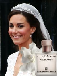 Kate wore White Gardenia Petals on her wedding day