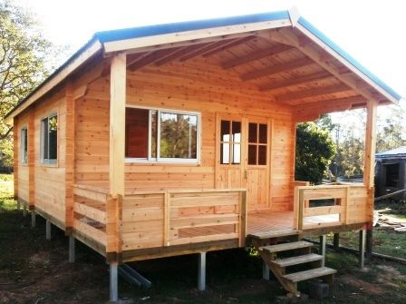 Cabin life affordable housing deluxe granny flat spa for Granny cabins