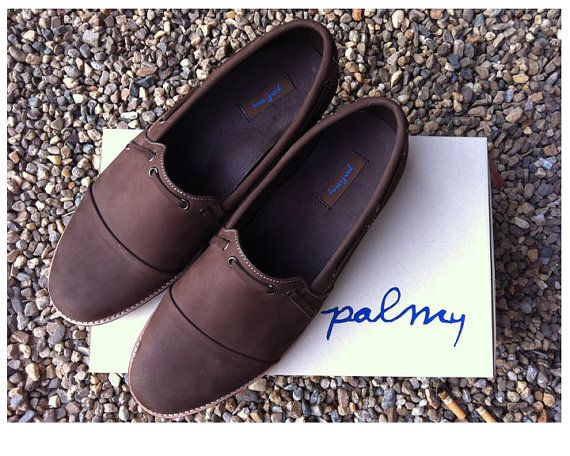 Romeo nubuck leather - by Palmy, palmycollections,   Chiang Mai, Thailand.