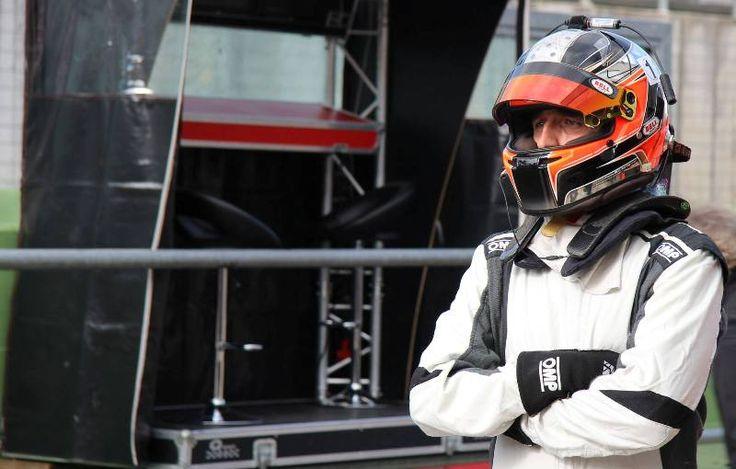 Test per Robert Kubica al volante di una GP3 a Franciacorta
