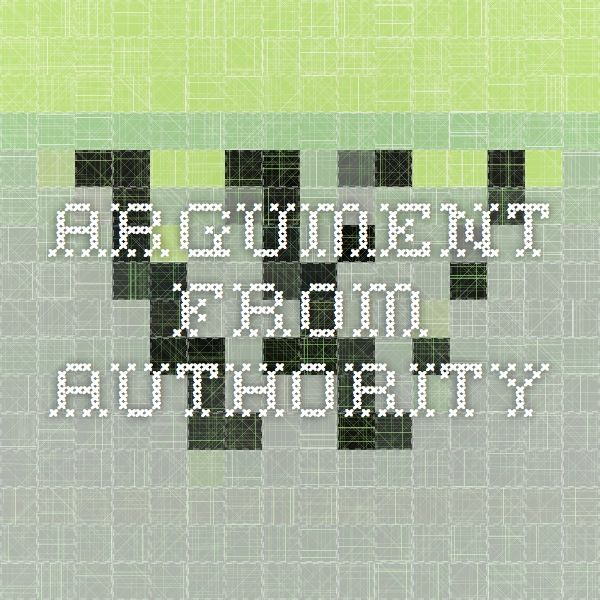 Argument_from_authority