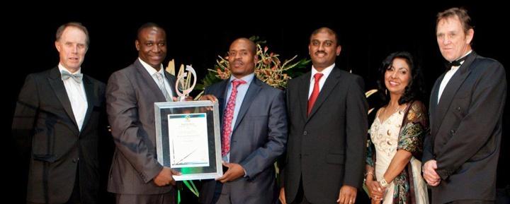 KZN Top Business Award;   Suncoast Casino