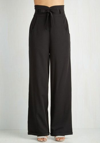 1930s style women's pants. Pensive and Paper Pants $69.99 AT vintagedancer.com